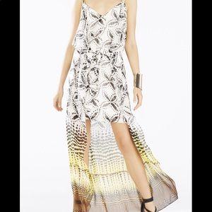 BCBG MazAzria Cascade Ruffle Asymmetrical Dress
